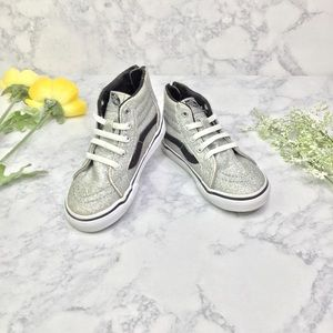 Vans Off the Wall Sparkle High Top Sneakers